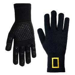 Waterproof Wool-Blend Knit Gloves