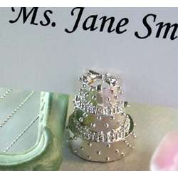 Wedding Cake Place Card Holder Favors
