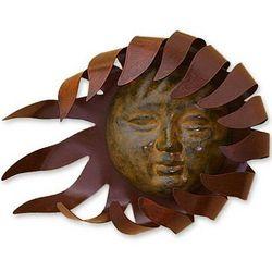 Solar Wind Iron Wall Adornment