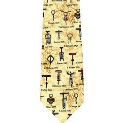 Antique Corkscrews Tie