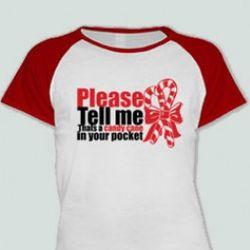 Candy Cane Junior T-Shirt