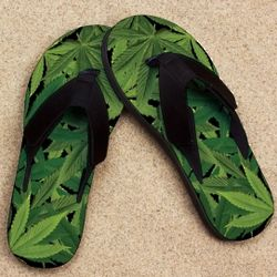 Pot Leaves Pro Fit Sandal