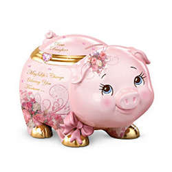My Precious Daughter Musical Piggy Bank