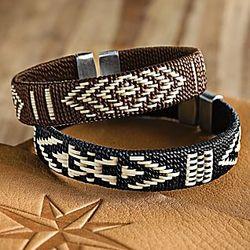 Sinu Woven Palm Bracelets