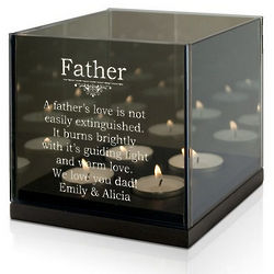Dad's Guiding Light Quad Candle Holder