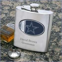 Groomsman's NFL Flask