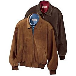 Men's Weather Ready Suede Jacket