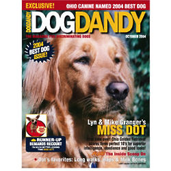 Personalized Dog Magazine Cover Print