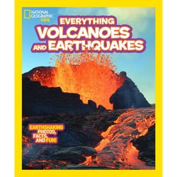 Everything Volcanoes and Earthquakes Kid's Book
