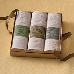 Fish Motif Handkerchiefs