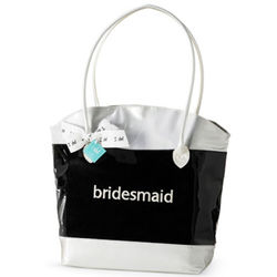 Embroidered Party Bridesmaid Tote Bag