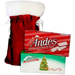 Santa's Holiday Theater Candy Sack