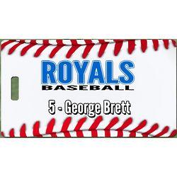 Personalized Premium Baseball Bag Tag