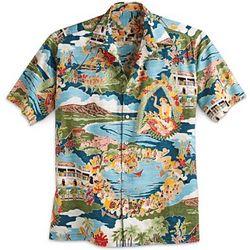 ''Boat Day'' Aloha Shirt
