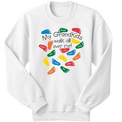 Personalized Walk All Over Me Sweatshirt