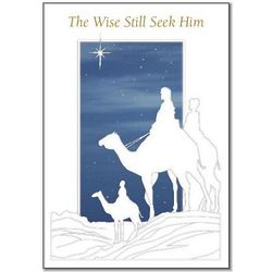Wise Men Christmas Cards Set