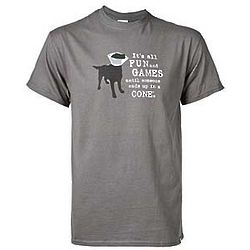 Large Fun and Games Dog T-Shirt