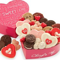 Sweet Heart Cookies Treats Box