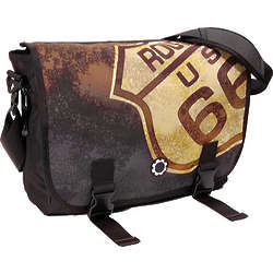 Dad's Route 66 Messenger Bag