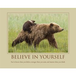 Personalized Believe In Yourself Print