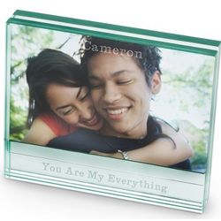 Engravable Glass Picture Frame