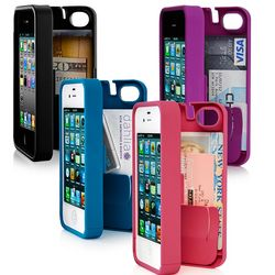 iPhone 4 Case with Built-In Wallet