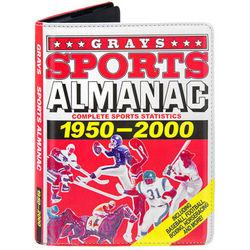 Back to the Future Gray's Sports Almanac iPad Case