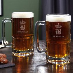 King of Steins Personalized Colossal Beer Mugs