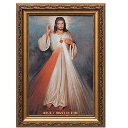 Divine Mercy with Sacred Heart Print