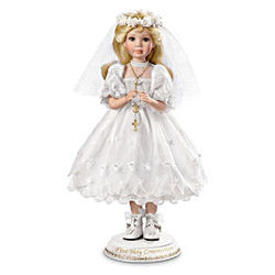 Her First Holy Communion Doll in Blonde