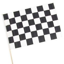 "12"" x 18"" Cloth Checkered Racing Flag"