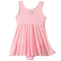 Girl's Skirted Dance Leotard