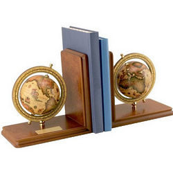 CEO Globe Bookends
