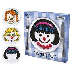 Dinner Do's Little Girl Plates