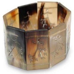 Autumnal Bull Horn Stretch Bracelet