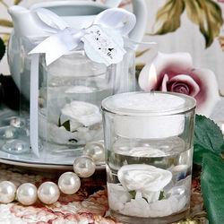 Rose Design Candle Favor