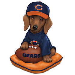 Chicago Bears Sunday Afternoon Quarter-Bark Figurine