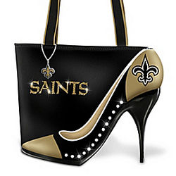 New Orleans Saints Kick Up Your Heels Handbag
