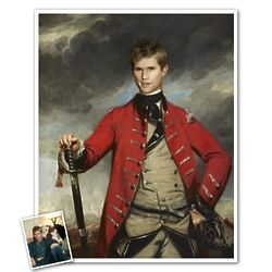 Classic Painting General John Personalized Print