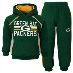 Infant's Green Bay Packers Fleece Sweatshirt and Pants