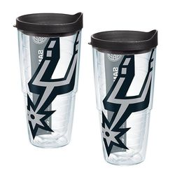 San Antonio Spurs Colossal 24 Oz. Tervis Tumblers with Lids