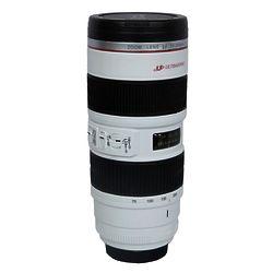 Camera Lens Mug in White
