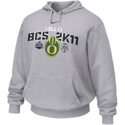 Oregon Ducks 2011 BCS National Championship Bound Sweat Shirt