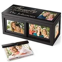 Personalized Family Photo Box
