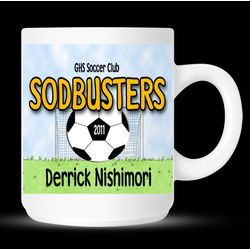 Personalized Soccer Coach or Player Mug