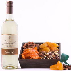 Harvest Delight Wine Gift Box