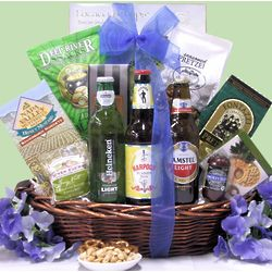 Father's Day Beer & Snack Gift Basket