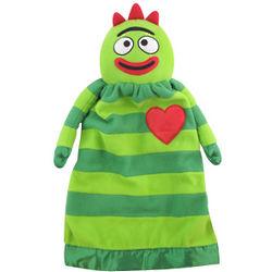 Personalized Yo Gabba Gabba Brobee Lovie Blanket Doll