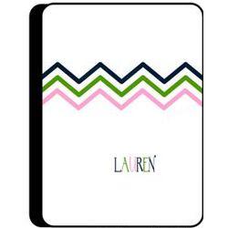 Personalized Chevron Prep iPad Cover