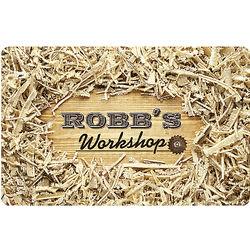 Personalized Sawdust Doormat